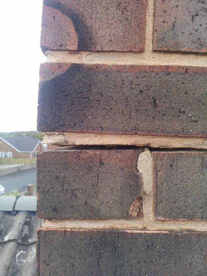 Chimney Stack Re Build Manterfield Building Amp Roofing